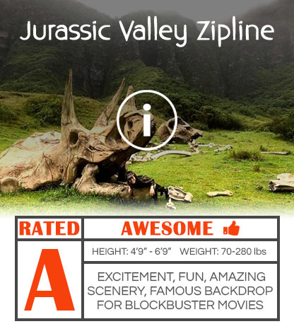 Jurassic Zipline Movie Poster
