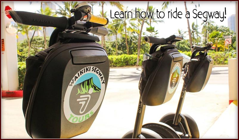 Learn to Ride a Segway in Hawaii