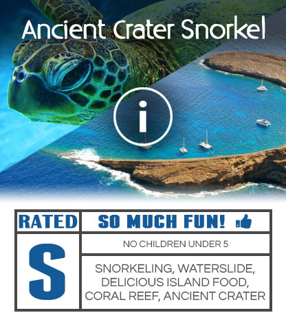 Molokini Crater Snorkel Boat